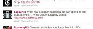 Luxury Layaway?